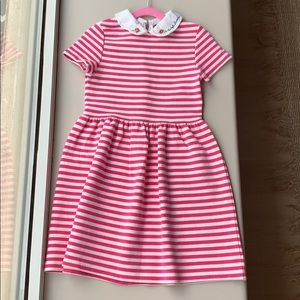Barely worn striped pink and white dress